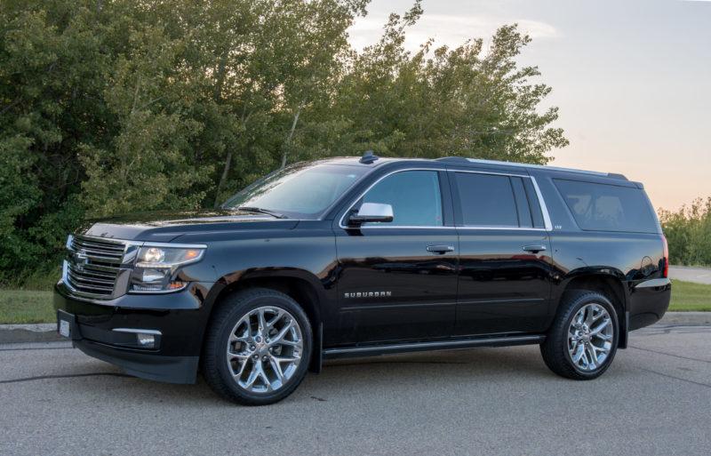 VIP Black SUV Service Apex Limousine Edmonton 2
