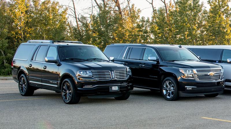 Black SUV Limousine Service Edmonton – Apex Limousine