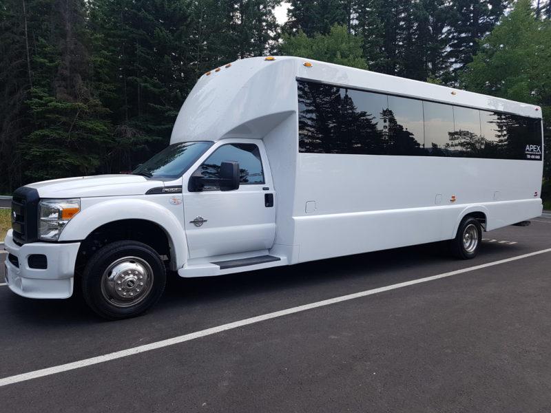 Charter Services Executive Bus Apex Edmonton Bus Exterior