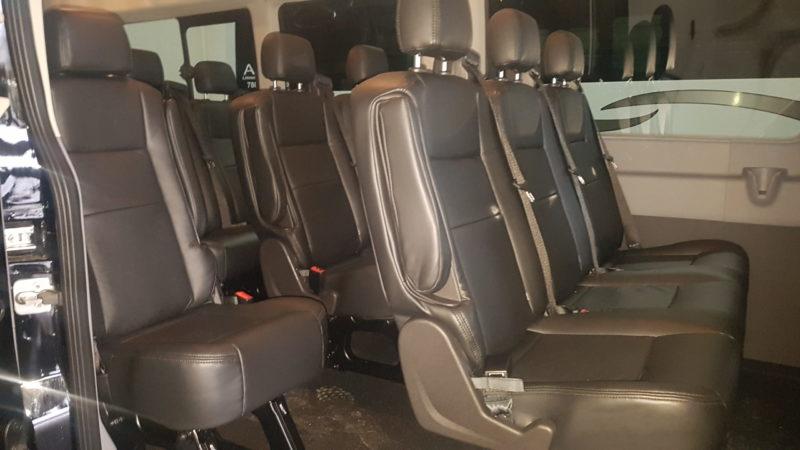 charter services executive shuttle buses apex limousine Edmonton mini interior