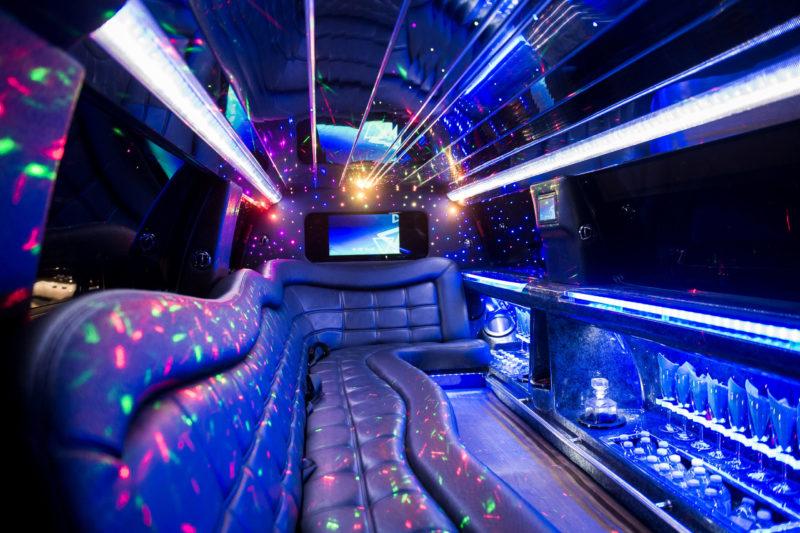 Stretch SUV Limousines Edmonton Apex Limousine Interior 3