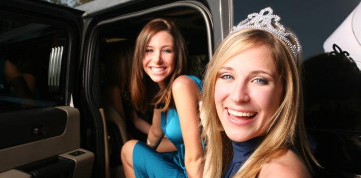 Graduation limousine service